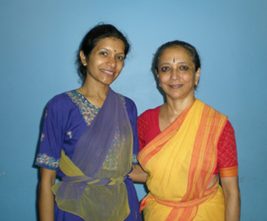 Uma with Ms. Leela Samson (director of Kalakshetra), Jun 2010